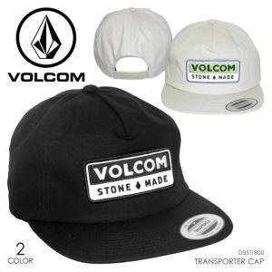 VOLCOM キャップ メンズ TRANSPORTER CAP 2018春 D5511800 ブラック/ベージュ フリーサイズ|3direct