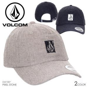 VOLCOM キャップ メンズ PIXEL STONE D5511807 2018春 ブラック/ベージュ ワンサイズ|3direct