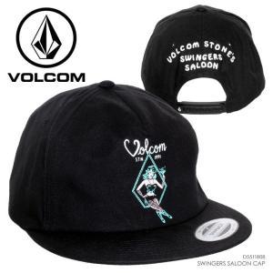 VOLCOM キャップ メンズ SWINGERS SALOON CAP 2018春 D5511808 ブラック フリーサイズ 3direct