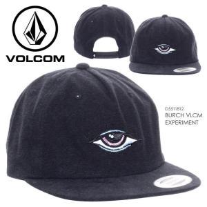 VOLCOM キャップ メンズ BURCH VLCM EXPERIMENT D5511812 2018春 ブラック ワンサイズ|3direct