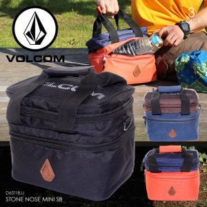 VOLCOM 保温保冷バッグ メンズ STONE NOSE PB D65118JJ 2018春 ブラック/ネイビー/オレンジ 8L|3direct