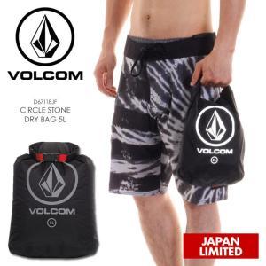 VOLCOM ドライバッグ メンズ CIRCLE STONE DRY BAG D67118JF 2018春 ブラック 5L|3direct