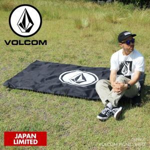 VOLCOM ピクニックシート VOLCOM PICNIC SHEET D67118JC 2018春 ブラック ワンサイズ|3direct
