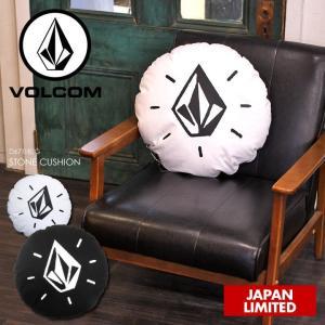 VOLCOM クッション STONE CUSHION 2018春 D67118JG ブラック ワンサイズ|3direct