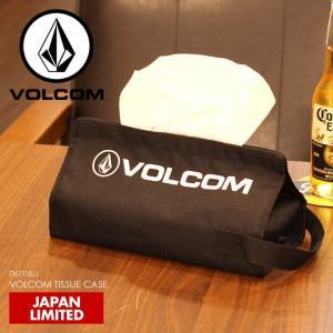VOLCOM ティッシュケース メンズ レディース VOLCOM TISSUE CASE D67118JJ 2018春 ブラック ワンサイズ|3direct