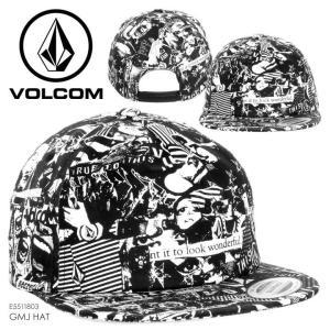 VOLCOM キャップ ユニセックス GMJ HAT 2018春 E5511803 ブラック フリーサイズ 取寄可 3direct