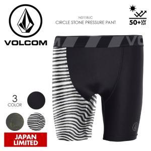 VOLCOM サーフインナー メンズ CIRCLE STONE PRESSURE PANT N01118JC 2018春夏 ブラック/カモフラージュ/ボーダー ワンサイズ|3direct