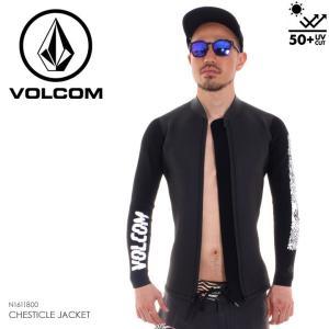 VOLCOM タッパー メンズ CHESTICLE JACKET - N1611800 2018春夏 ブラック S/M/L 3direct