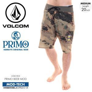 VOLCOM サーフパンツ メンズ PRIMO BEER MOD A0821805 2018春夏 カモフラージュ 28/30/32/34|3direct