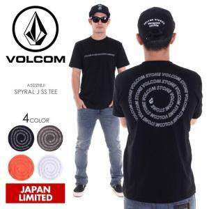 VOLCOM Tシャツ メンズ SPYRAL J S/S TEE A50218JI 2018春夏 ブラック/グリーン/オレンジ/ホワイト M/L/XL|3direct