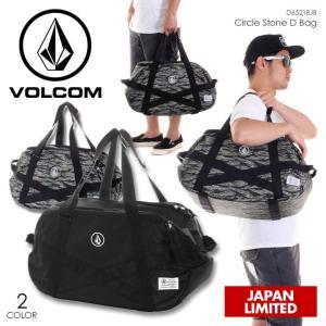 VOLCOM ダッフルバッグ メンズ CIRCLE STONE D BAG D65218JB 2018夏 ブラック/カモフラージュ 41L|3direct