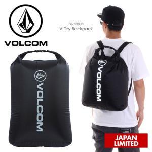 VOLCOM リュック メンズ V DRY BACKPACK D65218JD 2018夏 ブラック 16L|3direct