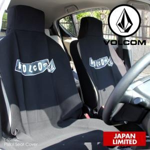 VOLCOM シートカバー メンズ PISTOL SEAT COVER D67218JC 2018春夏 ブラック ワンサイズ|3direct