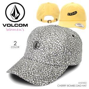 VOLCOM キャップ レディース CHERRY BOMBS DAD HAT E5521802 2018春夏 イエロー/グレー ワンサイズ|3direct