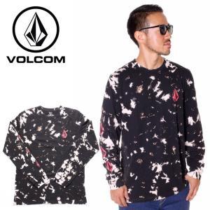 【年末感謝SALE】 VOLCOM ボルコム Tシャツ ロンT メンズ STATIC NOISE L...