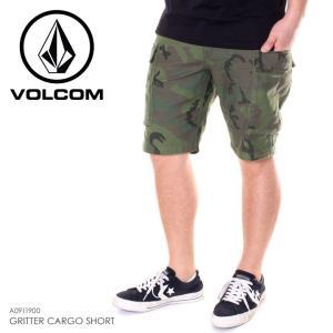 VOLCOM ボルコム ハーフパンツ メンズ GRITTER CARGO SHORT A0911900 2019春夏|3direct