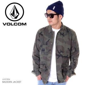 VOLCOM ボルコム ジャケット メンズ BADDEN JACKET A1511904 2019春夏|3direct