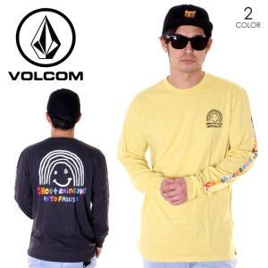 SALE セール VOLCOM ボルコム ロンT メンズ OZZIE RAINBOW L/S TEE A3611900 2019春夏|3direct