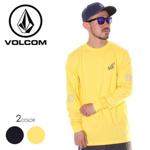 VOLCOM ボルコム Tシャツ ロンT メンズ LOPEZ WEB L/S TEE A3611902 2019春夏|3direct