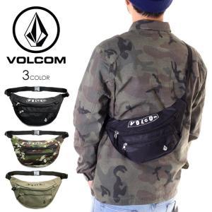 VOLCOM ボルコム ウエストポーチ メンズ PISTOL WAIST BAG D65119JC 2019春夏|3direct