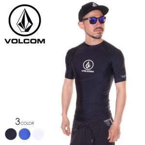 SALE セール VOLCOM ボルコム ラッシュガード メンズ LIDO SOLID S/S 2019春夏|3direct