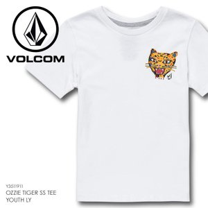 VOLCOM ボルコム Tシャツ キッズ OZZIE TIGER S/S TEE YOUTH LY Y3511911|3direct