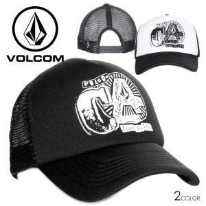 SALE セール VOLCOM ボルコム キャップ メンズ CALIFORNIA MESH CAP ブラック/ホワイト フリーサイズ 3direct