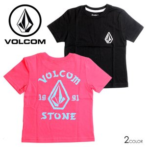 SALE セール VOLCOM ボルコム Tシャツ キッズ BIG OUTLINE SS TEE LITTLE YOUTH 2019春夏|3direct