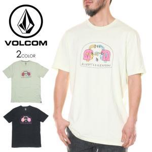SALE セール VOLCOM ボルコム Tシャツ メンズ SUBJECTS S/S TEE  2020春夏|3direct