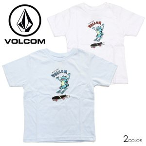 SALE セール VOLCOM ボルコム Tシャツ キッズ RIP IT SS TEE YOUTH LY|3direct