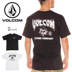 VOLCOM ボルコム Tシャツ メンズ KITTY KAT S/S TEE 2020春夏|3direct
