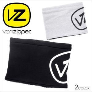 VON ZIPPER ネックウォーマー メンズ AH212-990 AH212990 2017-18秋冬 フリーサイズ ブラック/グレー|3direct