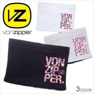 VON ZIPPER ネックウォーマー メンズ AH212993 AH212-993 2017-18秋冬 フリーサイズ ブラック/グレー/ホワイト|3direct