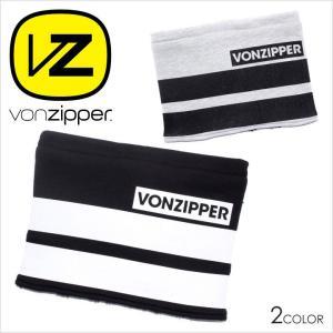VON ZIPPER ネックウォーマー メンズ AH212994 AH212-994 2017-18秋冬 フリーサイズ ブラック/グレー/ボーダー|3direct