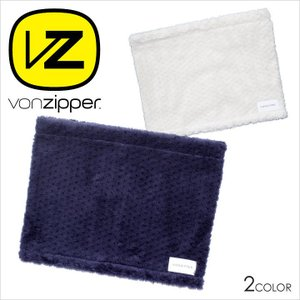 VON ZIPPER ネックウォーマー メンズ AH212995 AH212-995 2017-18秋冬 フリーサイズ ネイビー/ホワイト|3direct