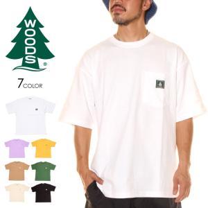 WOODS CANADA ウッズ カナダ Tシャツ メンズ WORK POCKET BIG TEE 2020春夏|3direct