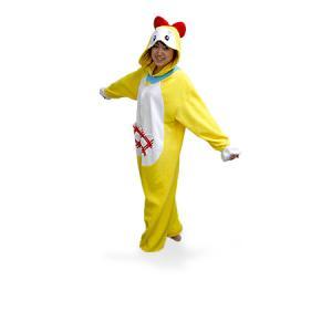 【激安・きぐるみフリースドラミちゃんパジャマ】冬もあったか、フリース素材のかわいい着ぐるみうしパジャマ。今年の冬は風邪しらず。フリーサイズ。送料無料。|3ds|02