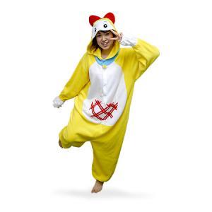 【激安・きぐるみフリースドラミちゃんパジャマ】冬もあったか、フリース素材のかわいい着ぐるみうしパジャマ。今年の冬は風邪しらず。フリーサイズ。送料無料。|3ds|03
