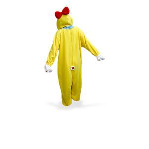 【激安・きぐるみフリースドラミちゃんパジャマ】冬もあったか、フリース素材のかわいい着ぐるみうしパジャマ。今年の冬は風邪しらず。フリーサイズ。送料無料。|3ds|04