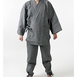 【高級・作務衣(グレー)】は、40代や50代のシニアから大人...