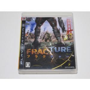 中古品 PS3 FRACTURE フラクチャー 3enakans