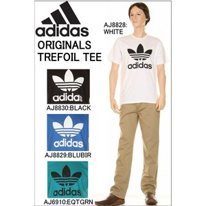 adidas アディダス AJ8828 AJ8830 AJ8829 AJ6910 ORIGINALS TREFOIL TEE Short Tee オリジナル トレフォイル 半袖 Tシャツ スポーツ HENLEYNECK|3love