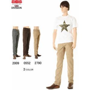 BIG STAR JEANS コーデュロイパンツ 1974 CORDUROY PANT'S ビックスター コールテン パンツ BIGSTAR KHI 2790 BRK 0552 GRA 2009|3love