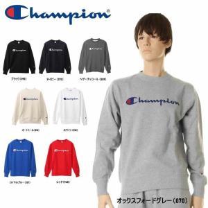 Champion チャンピオン C3-H004 クルーネックスウェットシャツ ベーシックトレーナー ユニセックス クルーネック トップス ロゴ Cロゴ 3love