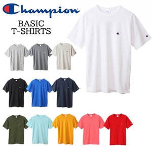 Champion チャンピオン C3-H359 Tシャツ 18SS ベーシック チャンピオン 半袖tシャツ tシャツ ホワイト グレー ネイビー ブラック 3love