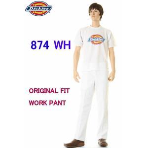 Dickies 874 IRREGULAR WH WHITE...