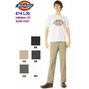 Dickies 874 L30 股下76cm ディッキーズ874 チノパン レングス30in ORIGINAL FIT WORK PANTS 874 CHINO PANTS|3love