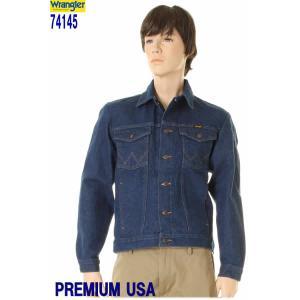 Wrangler Western Jeans Denim Jackt ラングラー74145PW 新品 インディゴデニムGジャン ウエスタン デニムジャケット 3love