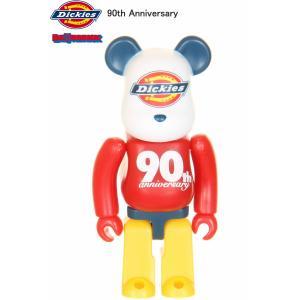 Dickies & BE@RBRICK ディッキーズ アンド ベアブリック ブランド生誕90周年 コラボアイテム Dickiesロゴ 90thアニバーサリー|3love