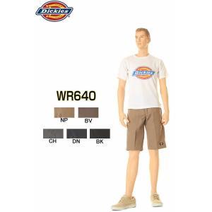こちらの商品は裾上げの対応をしておりません。   Dickies LOT.WR640 5カラー マル...